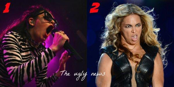 BATAILLE DE GRIMACES! Qui à la plus drôle grimace? Charlie XCX ou Beyonce?