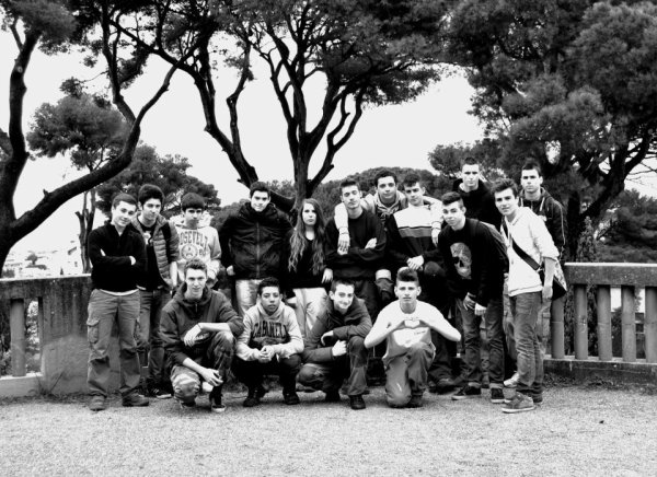 Ma classe au complet <3