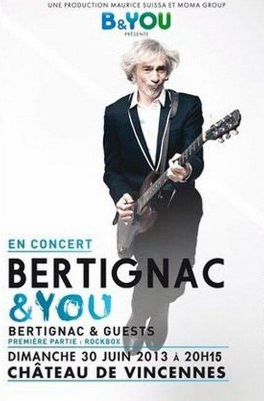 Vincennes BERTIGNAC en concert
