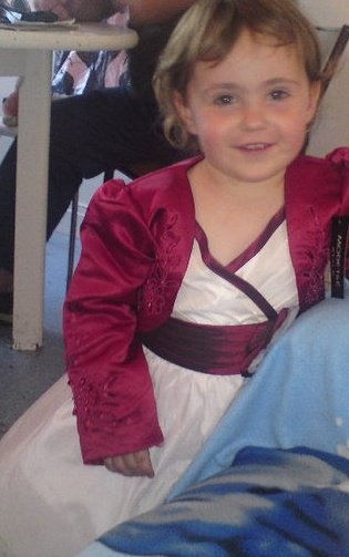 Ma princesse avec sa belle robe