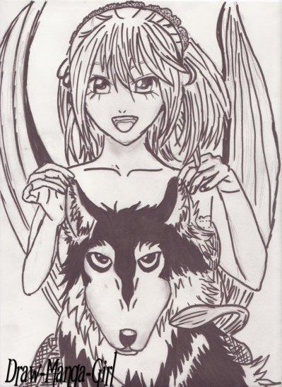 Les dessins de Draw-Manga-Girl