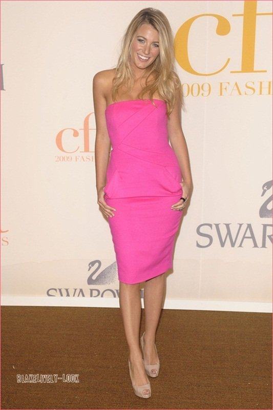 .Blake at the CFDA Fashion Awards .