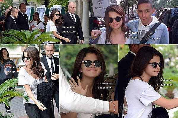 4 septembre Selena arrivé à Venice (Italie) Je la trouve très jolie j'aime beaucoup sa tenue pas toi ?