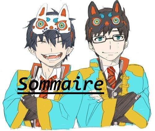 Sommaire Ƹ̵̡Ӝ̵̨̄Ʒ