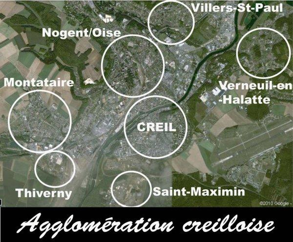 agglomération creilloise