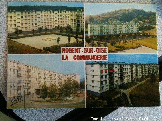 Les cités autrefois: La Commanderie à Nogent sur Oise