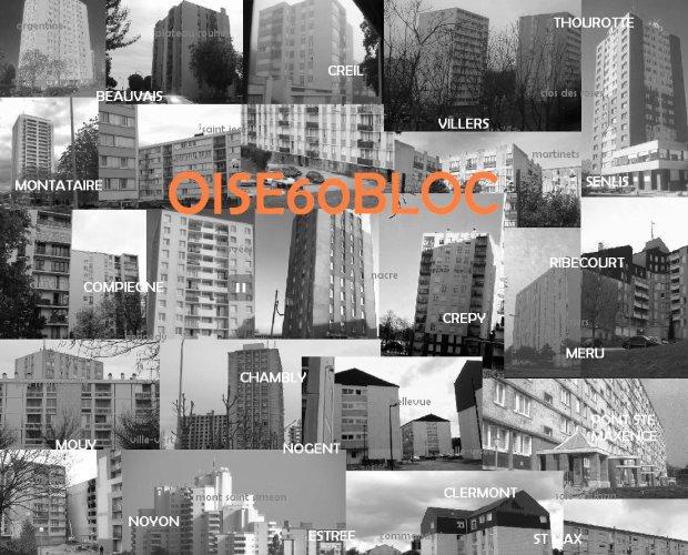 Quartiers Blocs cités Oise 60