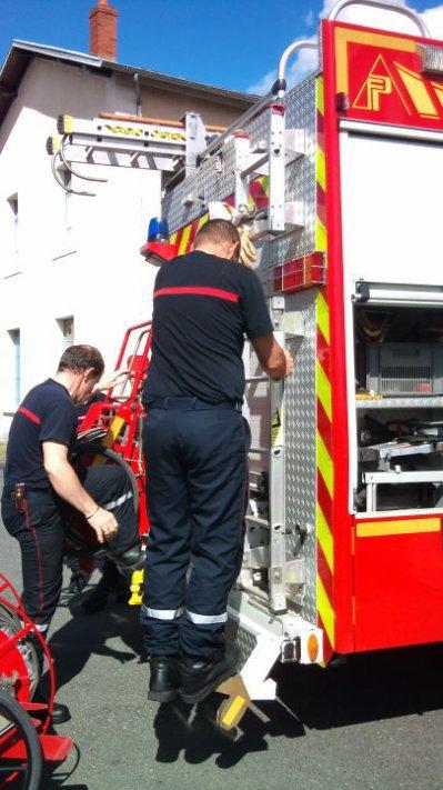 p'tite manoeuvre des pompiers du 03