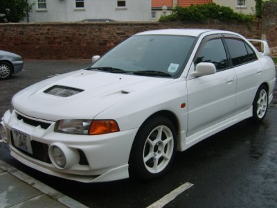 Mitsubishi lancer evo iv