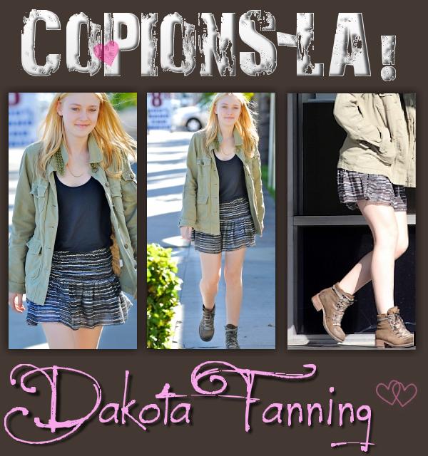 * RUBRIQUE: Copions-la!     /      SUJET: Dakota Fanning  *