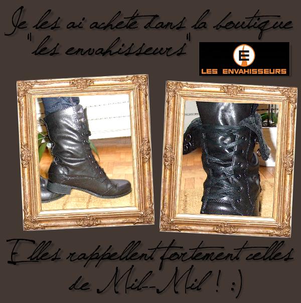* RUBRIQUE: Webmiss Time!     /      SUJET:Mes boots à la Miley Cyrus  *