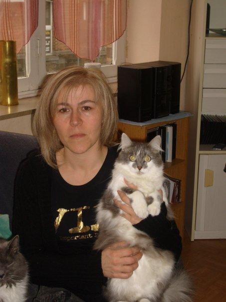 ma mère et ange