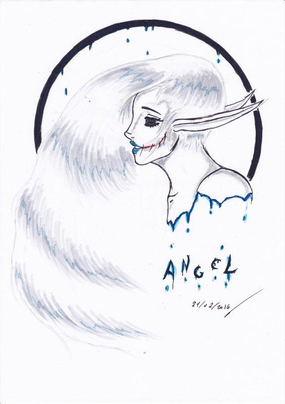 Angel, Pestilence, Famine et Guerre