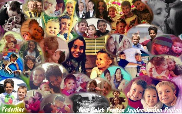 Petit montage de la famille Federline. Une grande famille complice et pleine d'amour
