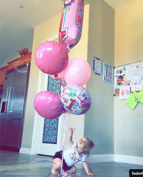 Peyton a eu 1 an!!