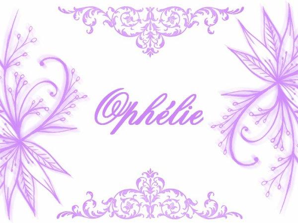 Ophélie M