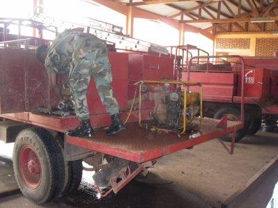 Mercredi 05 janvier 2011 : de BANGUI... + pompiers !