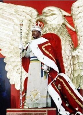 Le sacre de l'empereur Bokassa du 04 décembre 1977