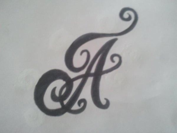 la premiere lettre de mon prénom ^^