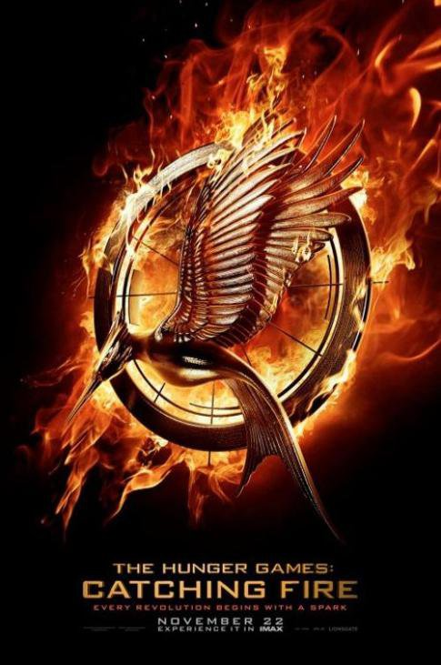 L'affiche officielle du film Hunger Games: L'Embrasement