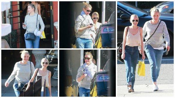 09/02/2016: Cameron et Nicole Richie ont été aperçu à Silver Lake en Californie.