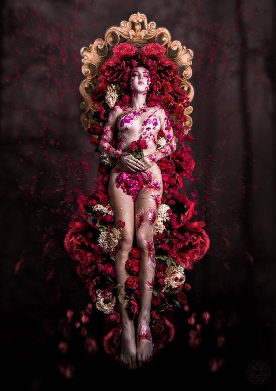 """"""" Le tombeau des roses """""""