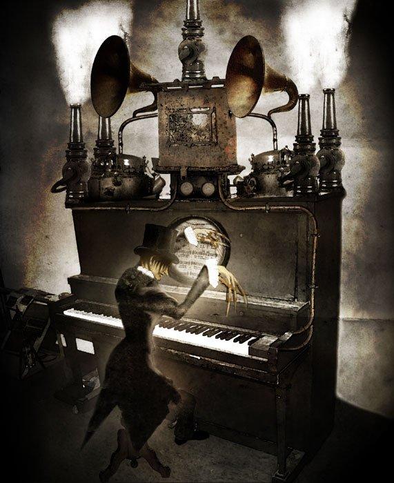 Le pianiste amoureux...