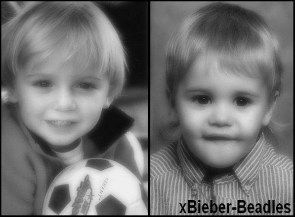Chrisitan & Justin étant petit.