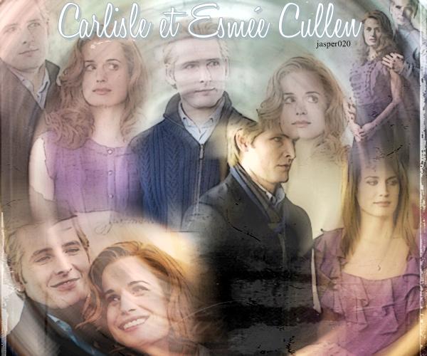Carlisle et Esmé Cullen