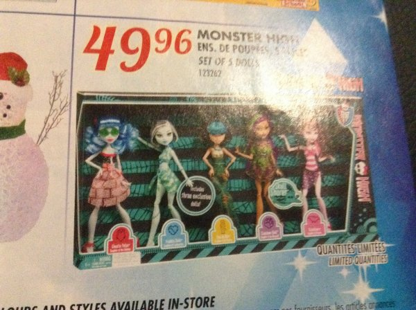 Magazines Rossy et toys r us Canada