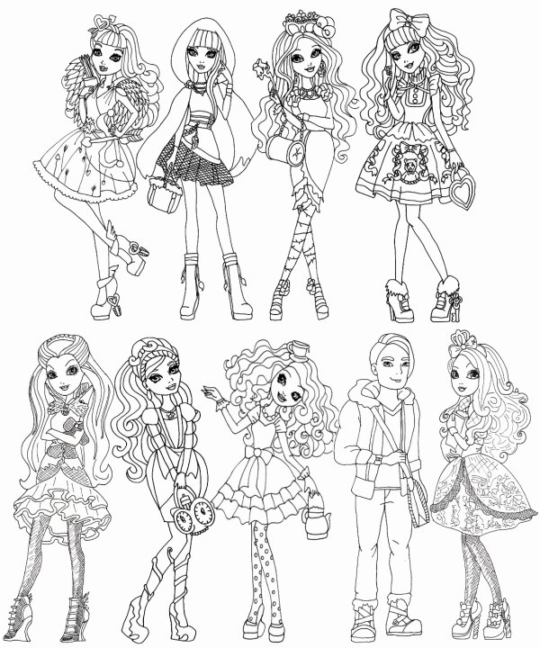 Fic ever after high(?)