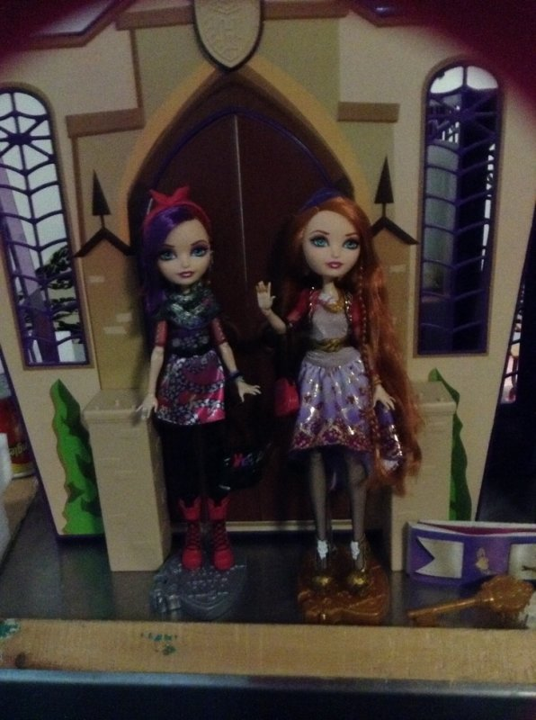 O'Hair deboxées-ever after high