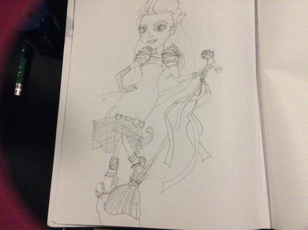 Dessins monster high partie 1