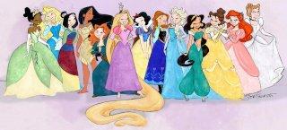 Poupées Disney princesses par hasbro