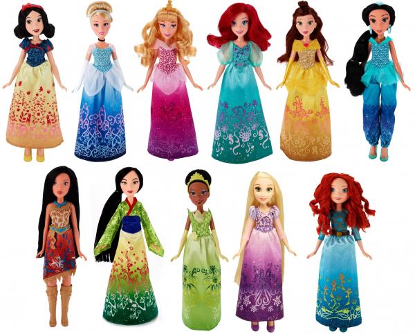Les Disney princesses par hasbro ~Royal shimmer~