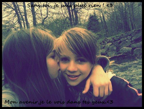 Une meilleure amie,c'est aussi précieux qu'une vie.♥