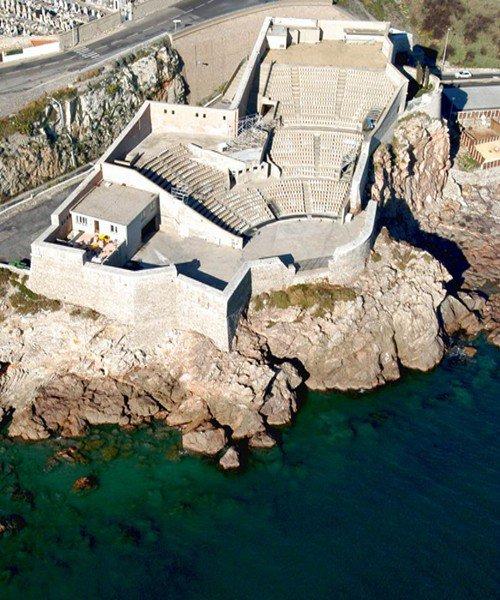 Theatre de la mer à Sète