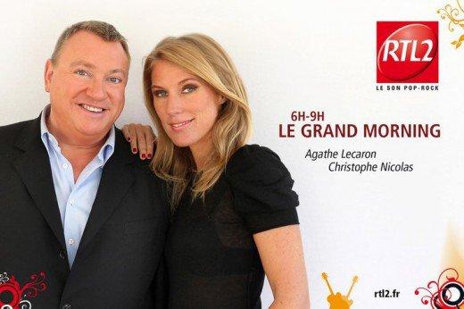 Interview d'Agathe Lecaron et de Christophe Nicolas pour le blog de Valérie Perez !