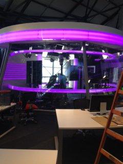 Quelques photos exclusives à quelques jours du lancement de I24News !