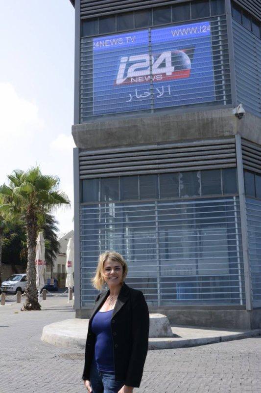 De nouvelles photos de Valérie sur I24News !