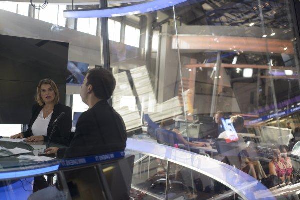 Voici de nouvelles photos de Valérie sur I24News.
