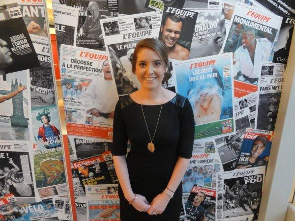 Interview d'Elodie Poyade, animatrice sur L'Equipe 21 !
