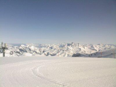 deux alpes vu panoramique