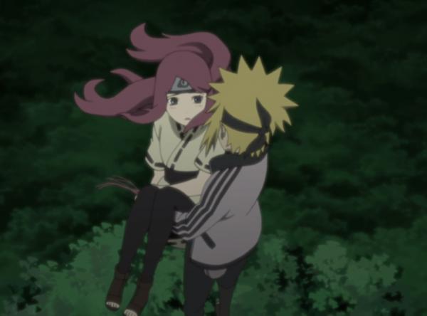 Minato et Kushina jeune