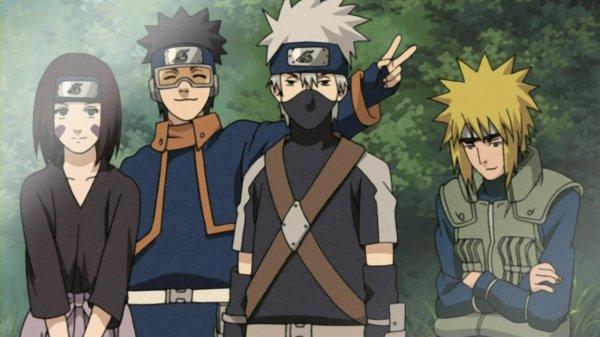 l'équipe de Minato