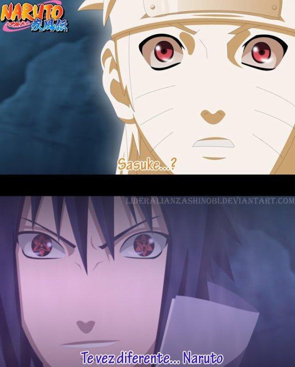 Naruto contre Sasuke