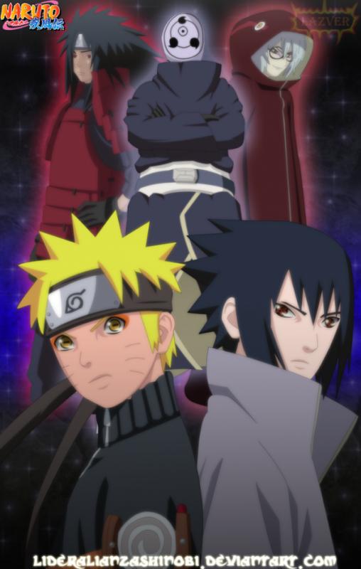 Narut et Sasuke