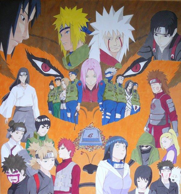 Naruto et tous les personnages