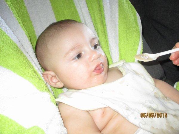 premier panade a mon fils  :)