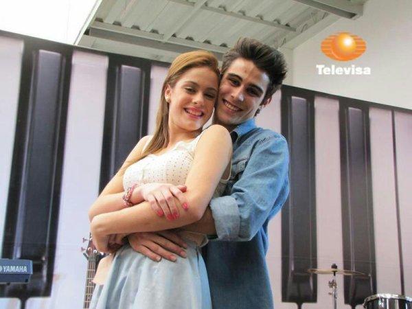 Pablo Espinosa y Mercedes Lambre
